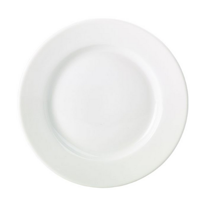 "Apollo White Round Plate 9"" (23cm)"