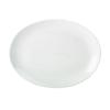 """Apollo Oval White Plate 12.5"""" (31cm)"""