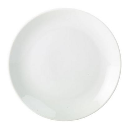 """Apollo White Coupe Plate 12"""" (30cm)"""