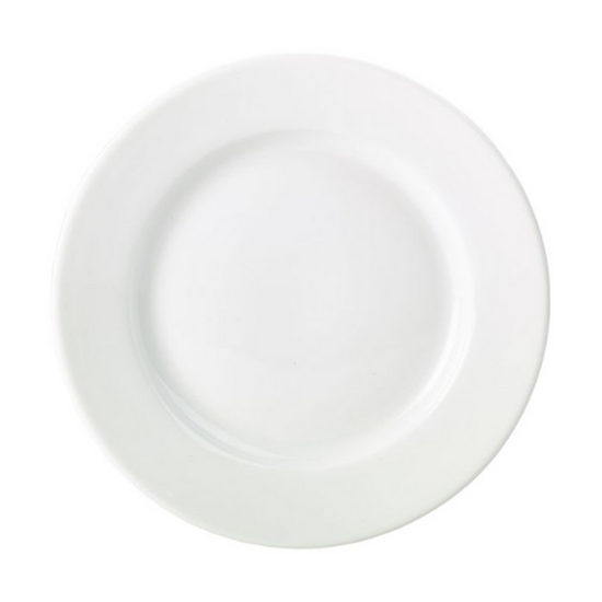 "Apollo Round White Plate 12.5"" (31cm)"
