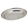 """Stainless Steel Oval Flat 10"""" (25cm)"""