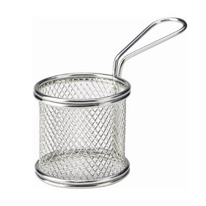 Mini Round Serving Fry Basket 9.3x9cm