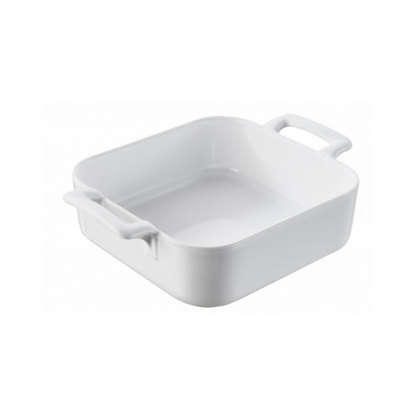 Belle Cuisine White Square Dish 13cm (12oz)
