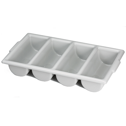 Grey 4 Section Cutlery Tray