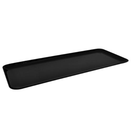 Black SAN Long Tray 58.5x22.5cm