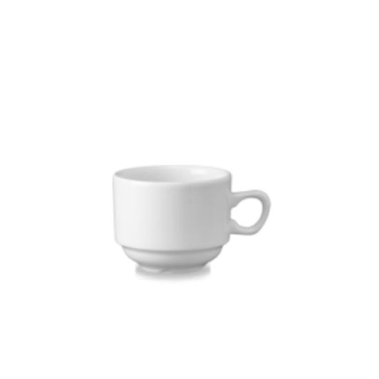 Churchill Nova Stacking Teacup White 21cl (7oz)
