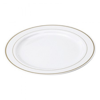 "Disposable Plate 10.25"" (26cm)"