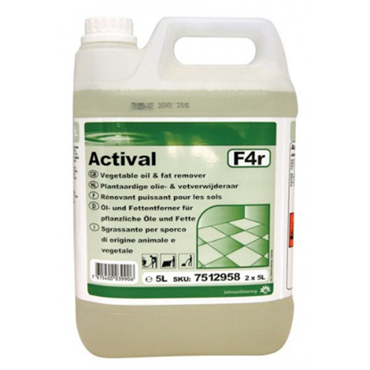 Diversey 5L Actival Unperfumed H.Duty Floor Cleaner