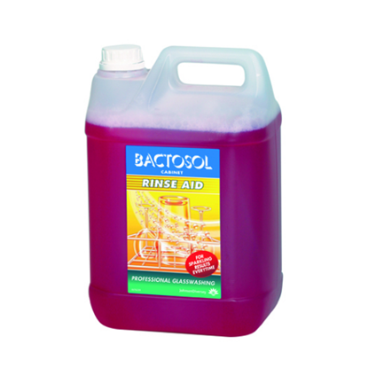 Diversey 5L Bactosol Rinse Aid For Glasses