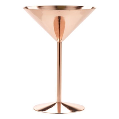 Copper Martini Glass 24cl (8.5oz)
