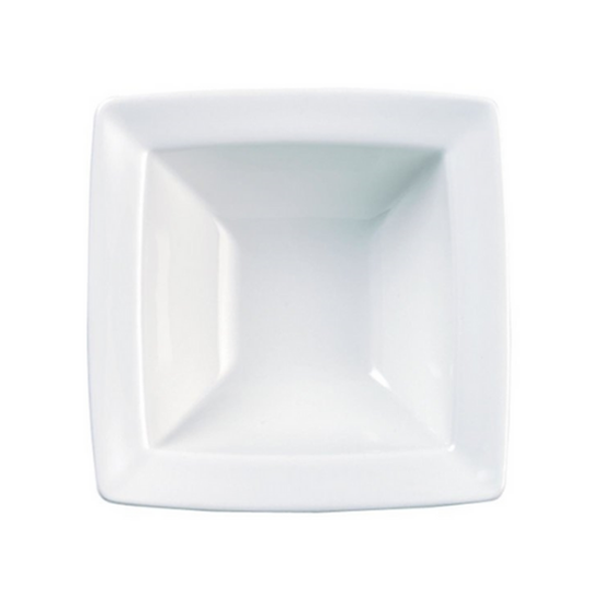 "Churchill Alchemy Energy White Square Bowl 4"" (10cm)"