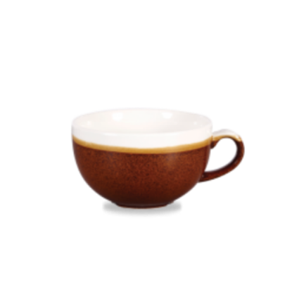 Churchill Monochrome Cinnamon Cappuccino Cup 22.7cl (8oz)