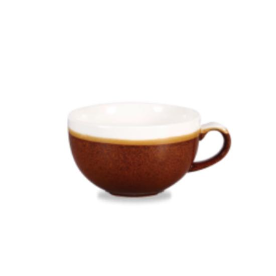 Churchill Monochrome Cinnamon Cappuccino Cup 22.7cl (8oz)