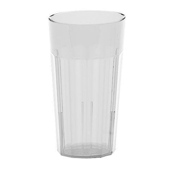 Clear Fluted Tumbler Glass 19cl (6.25oz)