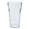 19cl (6.25oz) Clear Fluted Tumbler Glass