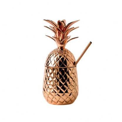 Copper Pineapple Cup 68cl (23oz)