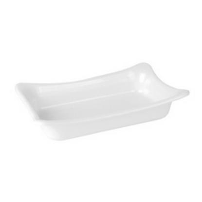 Dalebrook 1/4 White Sqaure Crock (2L) 26.5x16x5cm