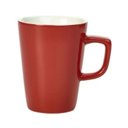 Genware Red Latte Mug 34cl (11.5oz)