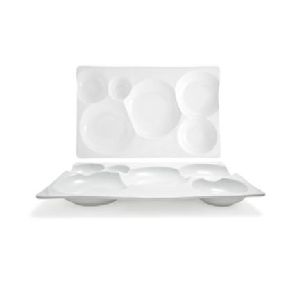 """Harmony Bento Platter 15.5"""" X 10"""" (39.25x25.4cm)"""