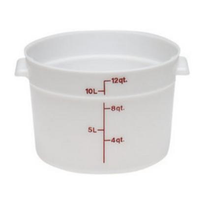 Round Polypropylene Storage Container 11.4L