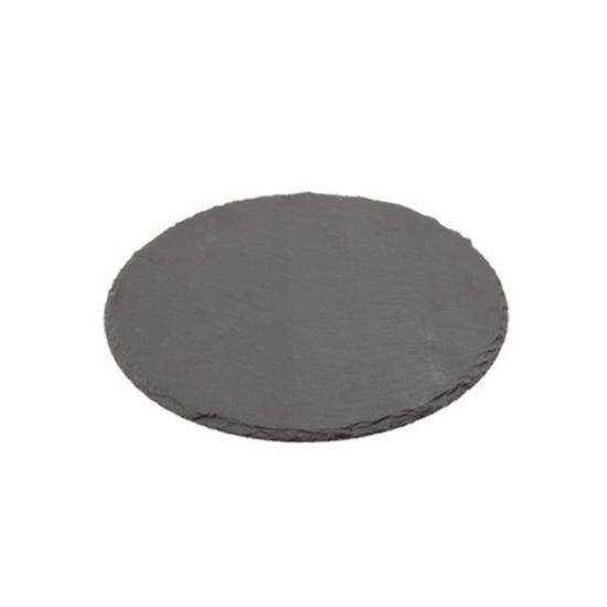 """Round Slate Platter 11.8"""" (30cm)"""