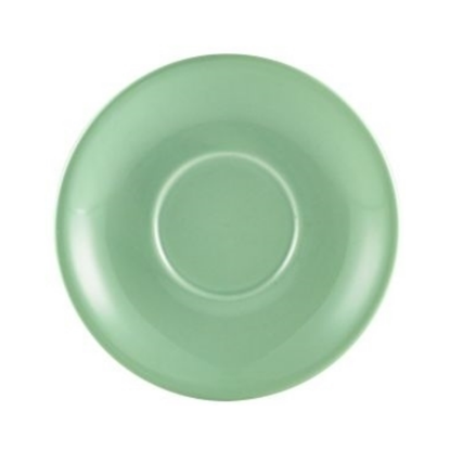 "Royal Genware Green Saucer 4.7"" (12cm)"