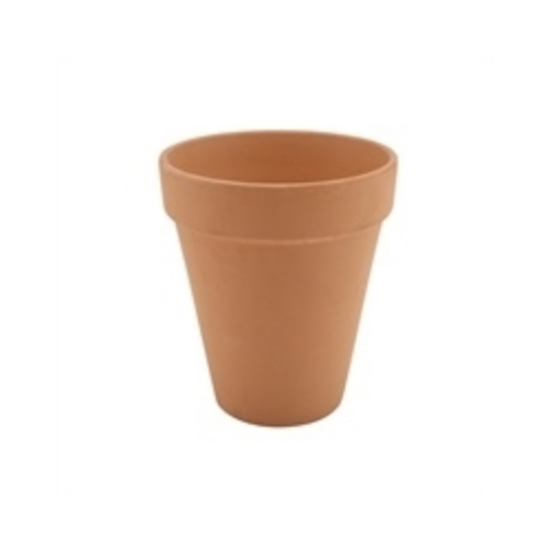 Rustic Tall Terracotta Pot 10x12cm