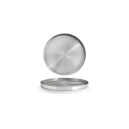 """Soho Stainless Steel Plate 7.5"""" (19cm)"""