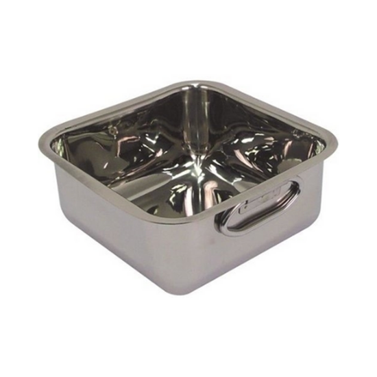 Square Balti Dish 20x20x9.5cm (2.5L)