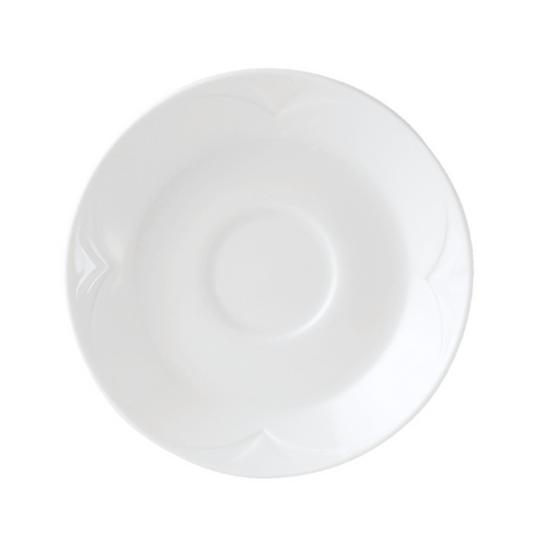 "Steelite Bianco Saucer 4.5"" (11.75cm)"