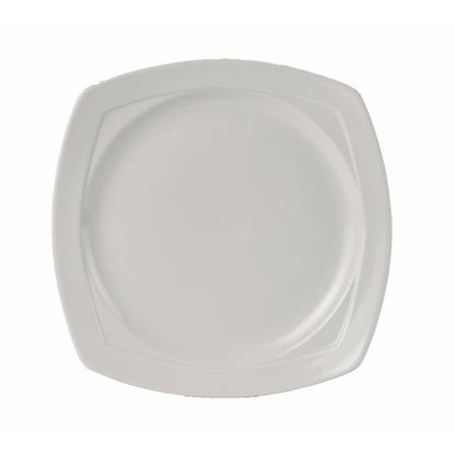 "Steelite Simplicity Harmony Square Plate 9"" (23.5cm)"
