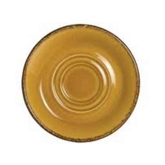"""Steelite Terramesa Mustard Saucer D/Well 5.75"""" (14.5cm)"""