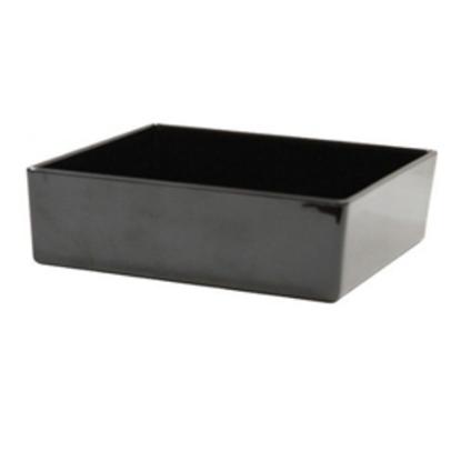 Straight Wall Grey Melamine Bowl