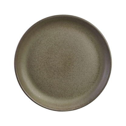 "Terra Stoneware Antigo Coupe Plate 9.5"" (24cm)"