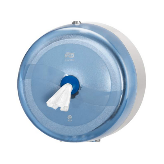 Tork Blue Plastic Smartone Dispenser 27x27x17cm