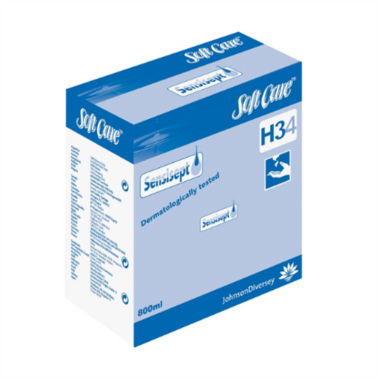 Diversey Sensisept H34-2in1 Skin Disinfectant & Cleaner 80cl