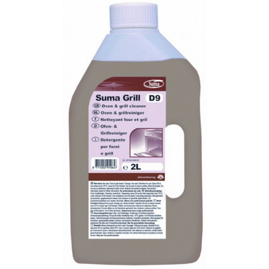 Diversey Suma Grill D9-Oven & Grill Clean 2L