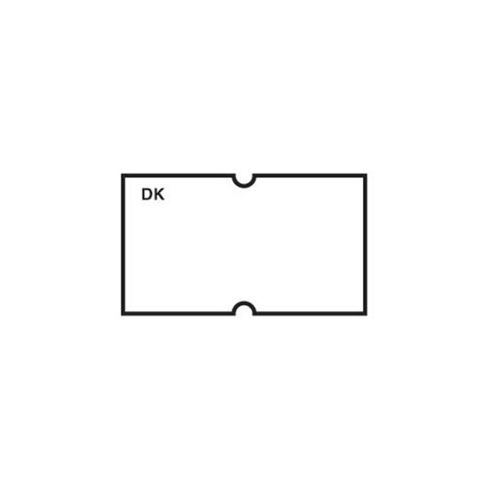 DM3 Plain White One Line Label