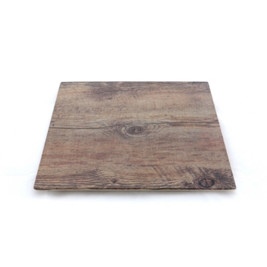 Driftwood Square Board 25.4xm X 1.5cm