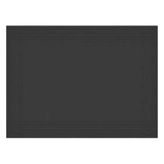 Duni Black Dunicel Placemat 30x40cm