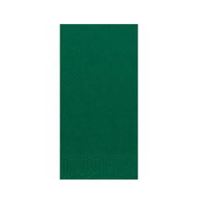 """Duni 2Ply Dark Green 8 Fold Napkin 16"""" (40cm)"""