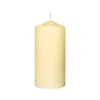 Duni 60Hr Champagne Pillar Candle 15x8cm