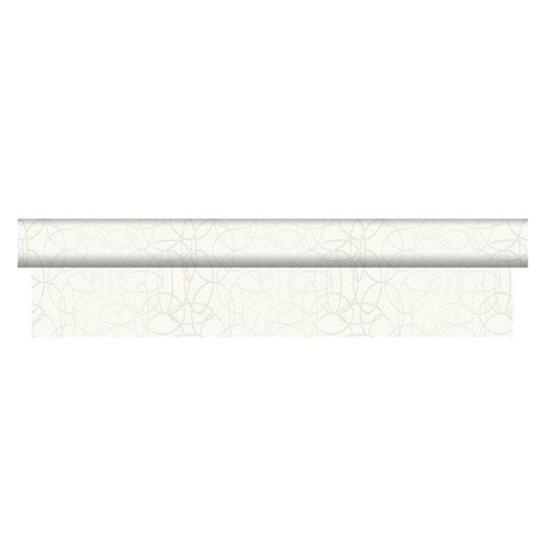 Duni Banquet Roll Dunisilk White 1.18m X 25m