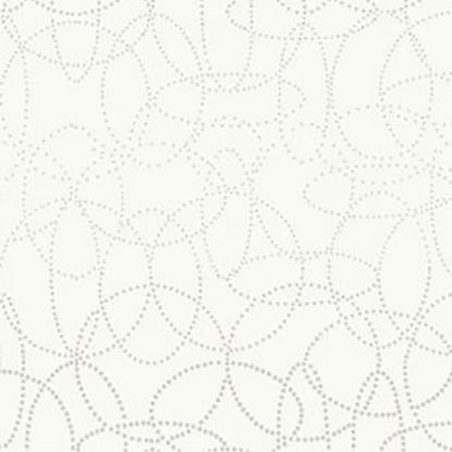 Dunisilk Circuits White Slipcovers 120cm X 120cm