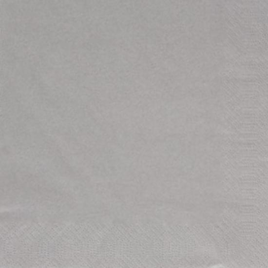 Dunisoft Napkins Granite Grey 8 Fold 40x40cm