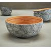 "9.5"" (24cm) Eggshell Grey Bamboo Bowl"