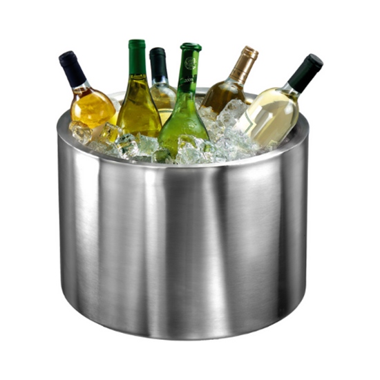 Elia Large Double Walled Stainless Steel Wine Cooler