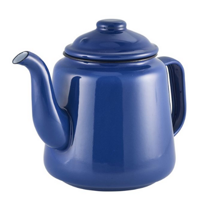 Enamel Blue Teapot 1.5L