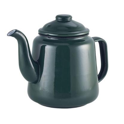 Enamel Green Teapot 1.5L