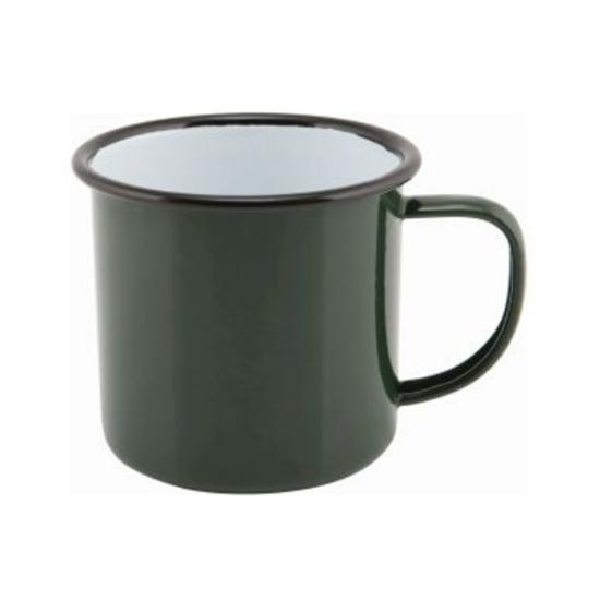 Enamel Mug Green 36cl (12.5oz)